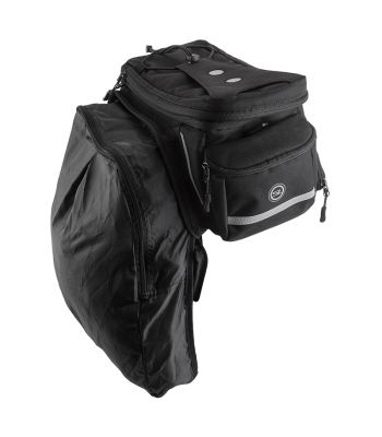 BAG SUNLT RACKPACK MD w/PANR TOPLOAD BK (G)