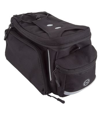 BAG SUNLT RACKPACK MD w/SIDE-POCKETS  BK (G)