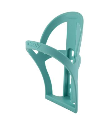 BOTTLE CAGE VELOCITY RESIN CELESTE