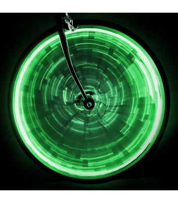 LIGHT SUNLT WHEEL GLOW f/ONE-WHEEL GN