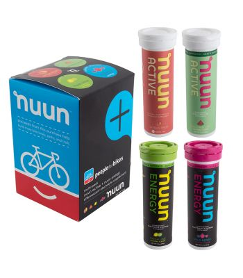 FOOD NUUN ELECTROLYTE ACTIVE MIXED 4PK PEOPLE fBIKES FLE/CF/WM/WBE