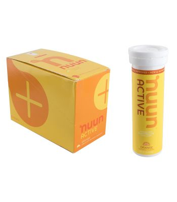 FOOD NUUN ELECTROLYTE ACTIVE ORANGE BXof8