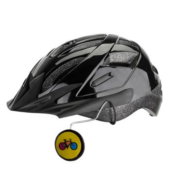 MIRROR TIGER EYE HELMET MOUNT YELLOW BIKE