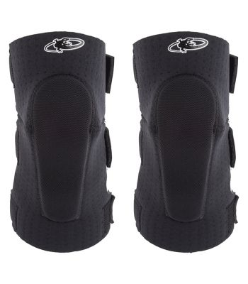 CLOTHING LIZARD ELBOW GUARDS SOFT ADULT MD BK
