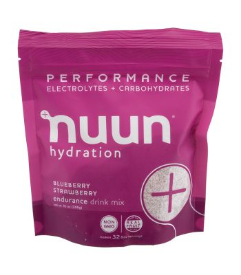 FOOD NUUN PERFORMANCE BLUEBERRY STRAWBERRY 10oz POUCH