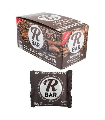 FOOD RBAR BAR DOUBLE CHOCOLATE BXof10 1.6oz