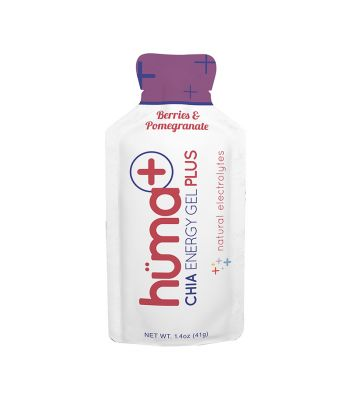FOOD HUMA CHIA ENERGY GEL PLUS BERRIES/POMEGRANATE BXof24