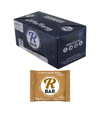 FOOD RBAR BAR CINNAMON ROLL BXof10 1.6oz