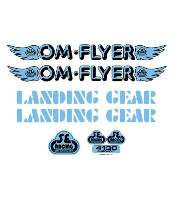 DECALS SE BIKES SET OM FLYER BU