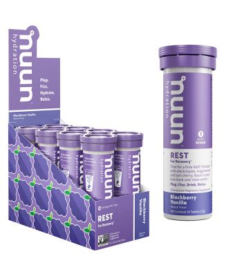 FOOD NUUN REST RECOVERY BLACKBERRY VANILLA BX OF 8