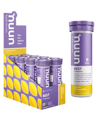 FOOD NUUN REST RECOVERY LEMON CHAMOMILE BX OF 8