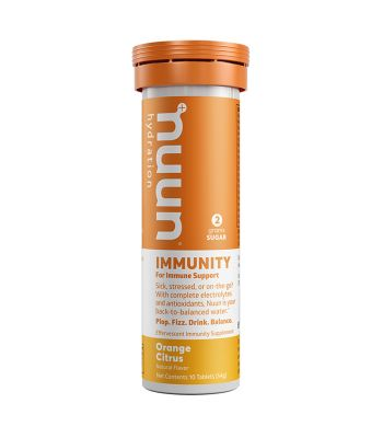 FOOD NUUN IMMUNITY ORANGE CITRUS BX OF 8
