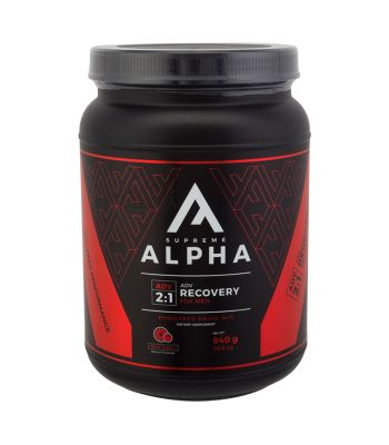 FOOD SUPREME ALPHA ADVANCED RECOVERY 2to1 MENS 840g FRUIT PUNCH