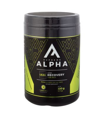 FOOD SUPREME ALPHA LEAN RECOVERY LEMON LIME 330g MENS
