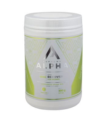 FOOD SUPREME ALPHA LEAN RECOVERY LEMON LIME 330g WOMENS