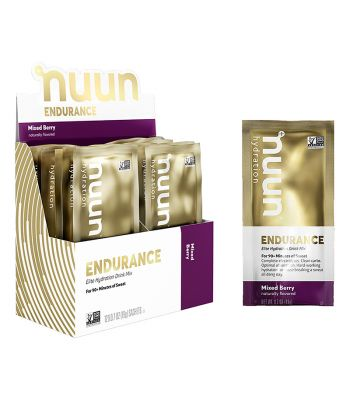 FOOD NUUN ELECTROLYTE ENDURANCE MIXED BERRY BXof12