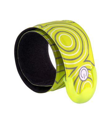 CLOTHING LEG BAND NITEIZE SLAPLIT RECHARGEABLE LED SLAP WRAP N-YL w/GN-LED