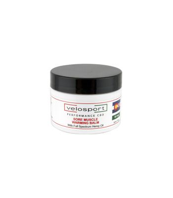 SKIN CARE VELOSPORT WELLNESS CBD PAIN RELIEF WARMING BALM 50mgTTL 1oz