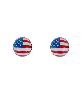 VALVE CAPS TRICKTOPZ FLAG-USA 1pr/PK