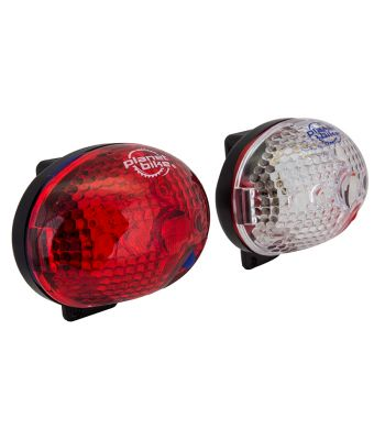 LIGHT PB COMBO BLINKY SAFETY 1-LED F&R