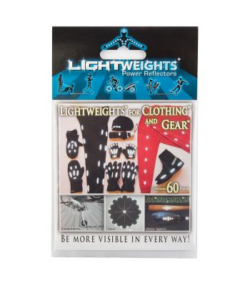 REFLECTOR LIGHTWEIGHTS SAFETY CLOTHING & GEAR 60pc