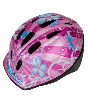HELMET KIDZAMO BIKE SM FLOWER
