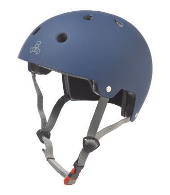 HELMET TRIPLE8 BRAIN SVR SKATE/BIKE SM-MD BLU