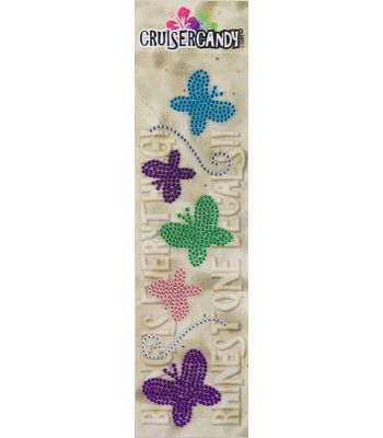 DECALS C-CANDY RHINESTONE BUTTERFLY