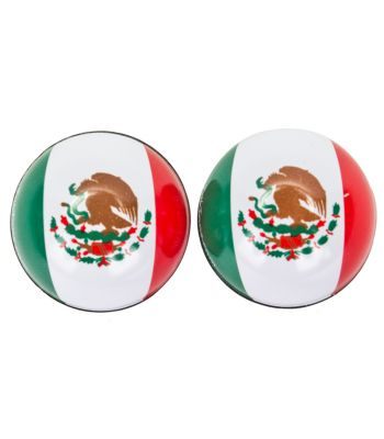 VALVE CAPS TRICKTOPZ FLAG MEXICO 1pr/PK