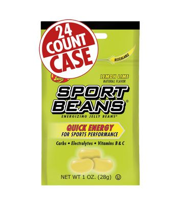 FOOD SPORT BEANS ENERGY BEANS LEMON/LIME BXof24
