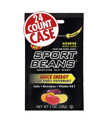 FOOD SPORT BEANS ENERGY BEANS ASSORTED BXof24