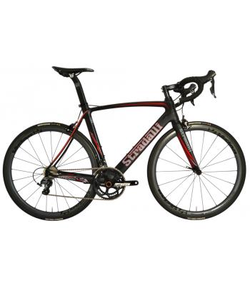 Stradalli Aversa Full Carbon Aero Road Bicycle Shimano Ultegra 8000 11 Speed. Vision Metron 40 Carbon Clincher Wheelset.