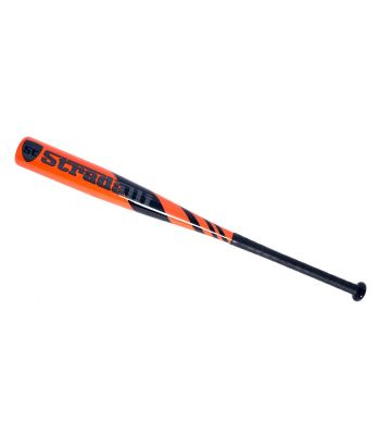 Stradalli Carbon Fiber Baseball Bat Adult Orange 29Oz