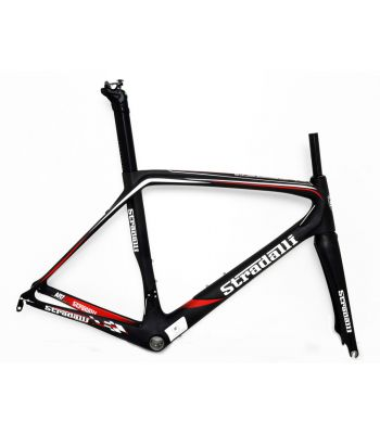 Stradalli AR7 Black Team Full Carbon Fiber Aero Road Bicycle Racing Frameset