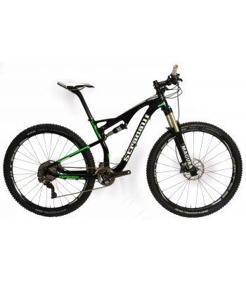 Stradalli 29er Green Edition Full Carbon Fiber Dual Suspension Trail MTB Mountain Bike. Shimano XTR 9000. Magura TS8 Suspension. Shimano MT66 Wheelset