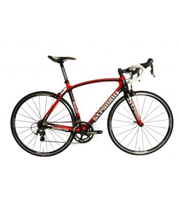 Stradalli Napoli Full Carbon Road Bike Shimano Ultegra 8000 11 Speed. Vision Team T25 Wheel Set.
