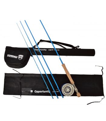 Stradalli Opportunity 10 Wt, 9' Long, 4 Piece Fast Action Fly Fishing Rod 100% Carbon Fiber Billet Reel Combo