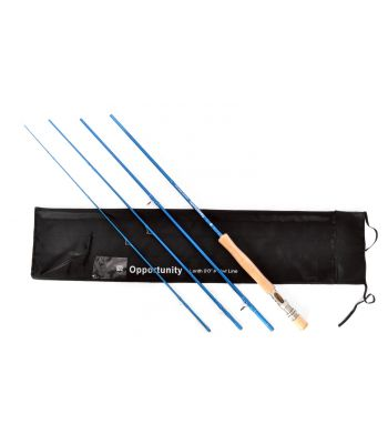 Stradalli Opportunity Series 12 Wt, 9' Long, 4 Piece Fast Action Maroon Fly Fishing Rod 100% Carbon Fiber