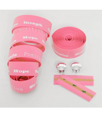Stradalli Positive Pink Foam Classic Style Handlebar Bar Tape Road Bicycle Bike Cycling Cyclocross CX TT Time Trial Triathlon Track