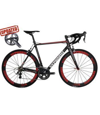 R7 Full Carbon Road Bike. Shimano Ultegra 8000 11 Speed. Stradalli Carbon Clincher 50mm Vento Wheelset.
