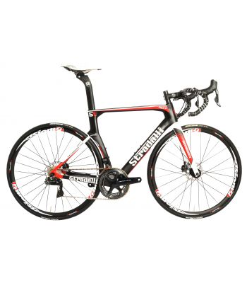 Stradalli Carbon RD17 Hydraulic Disc Brake Bicycle. Shimano Dura Ace 9150 Di2 11 Speed