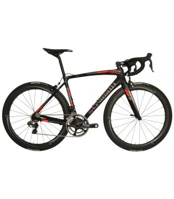 Stradalli San Remo Full Carbon Road Bike. Shimano Ultegra 6870 Di2 11 Speed. Vision Metron 40 Carbon Clincher Wheelset