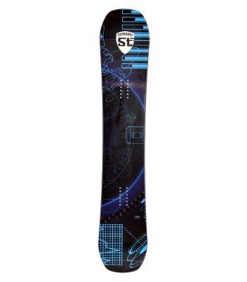 Stradalli Indigo Tech Carbon Snowboard 156 Camber