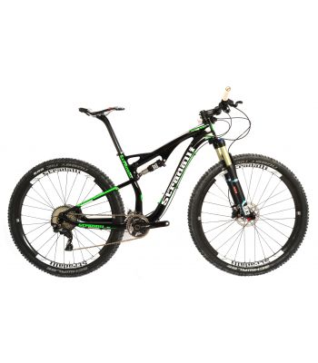 Stradalli 29er Green Edition Full Carbon Fiber Dual Suspension Trail MTB Mountain Bike. Shimano XT M8000.
