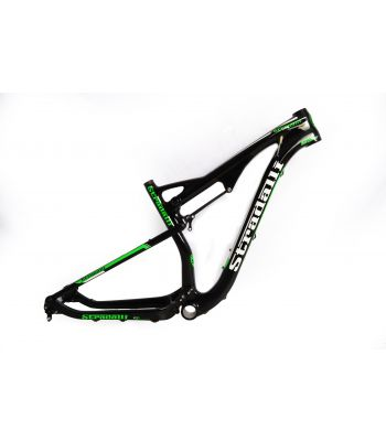 Stradalli 29er Green Edition Full Carbon Dual Suspension Cross Country XC Mountain Bike Frame.
