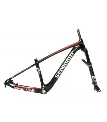 Stradalli M29 29er Full Carbon Fiber Mountain Bike Frame and DT-SWISS Fork Combo