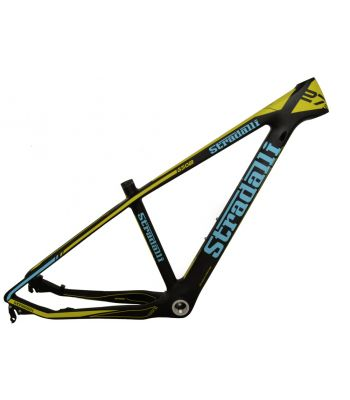 Stradalli Hardtail Full Carbon Fiber Mountain Bike Frame. 27