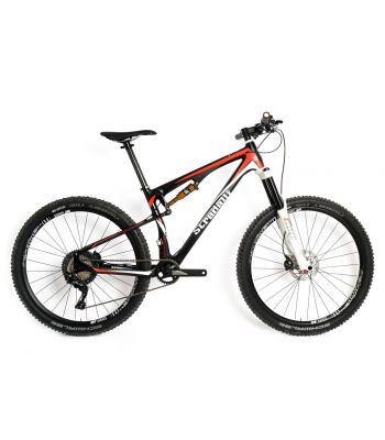 Carbon Dual Suspension All Mountain Stradalli 150 Travel MTB Bike 27.5