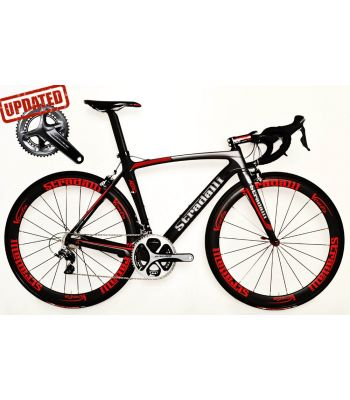 Stradalli Aero 7 Full Carbon Road Bicycle Shimano Dura Ace 9100 11 Speed Vento 50mm Carbon Clincher Wheelset