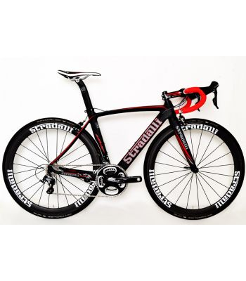 Stradalli Aversa Team Edition Full Carbon Aero Road Bicycle Shimano Ultegra 8000 11 Speed Stradalli 50mm Carbon Clincher Wheelset